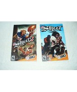 NFL Street And NFL Street 2–PS2–Lot of 2 Manuals  - $5.94