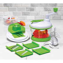 Art + Cook 13-Piece Super Slicer Vegetable Cutter Grate Fruit Shred Salad - $21.46