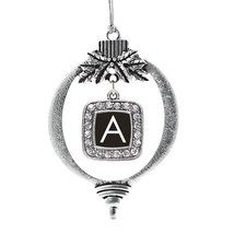 Inspired Silver My Initials - Letter A Classic Holiday Decoration Christ... - $14.69