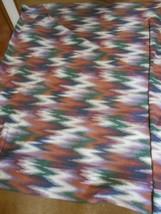 "Great Polyester WESTERN AMERICANA Blanket  86"" x 68"" - $22.36"