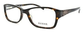 GUESS GU2274 TO Women's Eyeglasses Frames 52-16-135 Dark Tortoise + CASE - $64.25