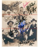 THE DUKES OF HAZZARD FULL CAST ALL 8 SIGNED AUTOGRAPHED 8x10 RP PHOTO HAZARD - $19.99