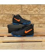 NIKE AIR FOAMPOSITE PRO GS KICKS KID'S BLACK/ORANGE BASKETBALL SHOE 6447... - $159.00