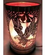 Electric Metal Touch Fragrance Lamp/Oil Burner/Wax Warmer/Night Light gw... - $23.75
