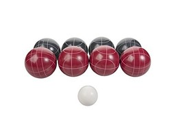 Triumph Competition 100mm Resin Bocce Ball Outdoor Game Set with Carryin... - $60.93