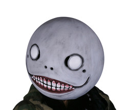 NieR: Automata Emil Mask Gray Latex Mask Head Hood Mask for Halloween Co... - $51.39 CAD
