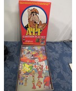 Vtg 1988 Alf Colorforms 719 Cartoon Play Set  - $14.86