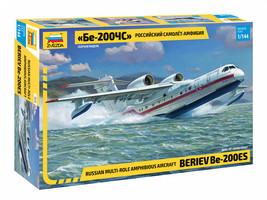 Zvezda 7034 - Russian multi-role amphibious aircraft Beriev Be-200ES Scale 1/144 - $99.00