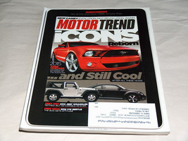 Motor Trend October 2011 Car Truck Magazine 2015 Ford Mustang 50 Years Ponycar - $8.45