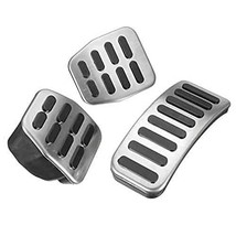 PAKCEEINC Stainless Steel Pedal Rubber Set for Manual Transmission for V... - $18.56