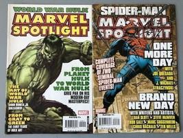 Marvel Spotlight Comics, Spider-Man and World War Hulk - $3.28+