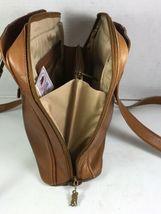 American Angel Brown Leather Multi Pocket Shoulder Bag – Distressed image 4