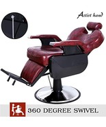 Artist Hand Barber Chair Hydraulic Recline Barber Chairs Salon Chair for... - $301.40