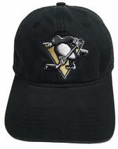 Reebok Pittsburgh Penguins Hat Face Off Headwear Pens Logo Adult Adjusta... - $19.75