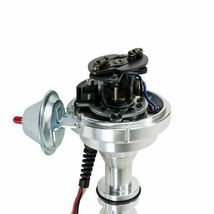 Ford Fe V8 Pro Series Distributor Ready to Run Blue image 5