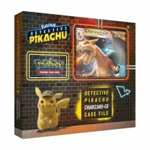 Pokemon TCG Charizard GX Box Detective Pikachu Special Case File 6 Packs + Promo - $25.49