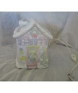 Precious Moments Porcelain Bisque Lighted House #290904 1995 by Enesco - $29.69