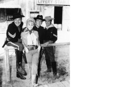 F Troop Melody Patterson Larry Storch Vintage 11X14 BW TV Memorabilia Photo - $12.95