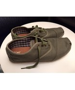 Tom's Men's Olive Casual Shoes US 10 - $12.00