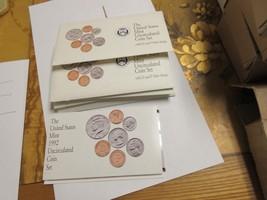 1992 , U.S. Mint Uncirculated Coin Set , Lot of 5 , NIB - $75.00
