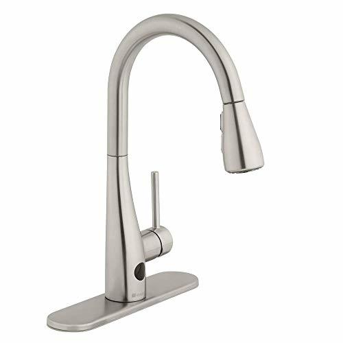 Glacier Bay Nottely Touchless Single-Handle Pull-Down Sprayer Kitchen Faucet in  - $179.90