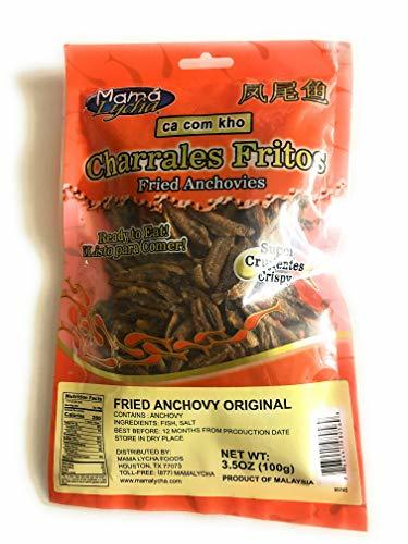 Charrales Fritos fried anchovies 3.5 oz