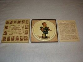 Berta HUMMEL ceramic Wall Figure plaque Art reproductions in BOX OLD vin... - $18.99