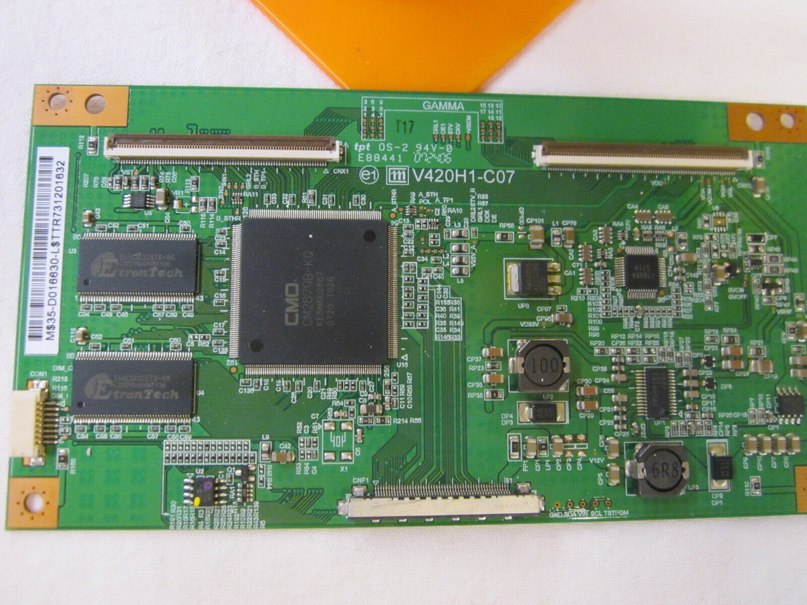 Philips 996510010061 (V420H1-C07, 35-D016630) T-Con Board for Hitachi | Insignia - $36.00