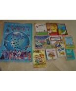 10 Classic Greatest Children books + 1 Rare Big Amazing World Giant Boar... - $37.99