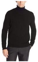 Calvin Klein Men's Merino Solid V-Neck Sweater, Dusty Black, Size L. - $24.74