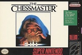 Super Nintendo SNES THE CHESSMASTER Game CARTRIDGE AND MANUAL - $12.99