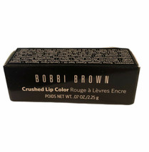Bobbi Brown Crushed Lip Color Lipstick RUBY .07 oz/2.25 g Travel Size NE... - $10.69