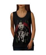 Kung Fu Panda Fight Tee Zoo Samurai Women Tank Top - $12.99