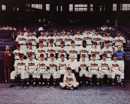 1948 World Series Champion Cleveland Indians Color Team Picture 8 X 10 Photo - $5.99
