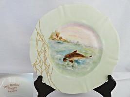 Theodore Haviland Antique Fish Plate 5 - $29.99