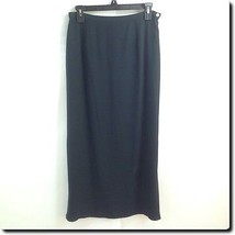 Tao Navy Classic Silk Straight Skirt 10 - $14.50