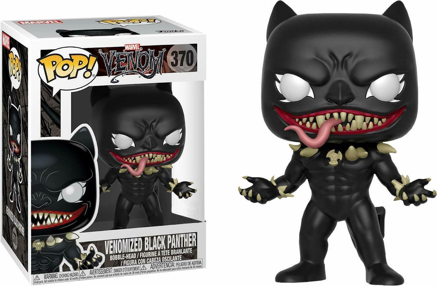 Funko Pop Venom Venomized Black Panther Pop! Vinyl Action Figure