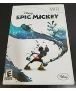 Disney Epic Mickey Wii Cartridge - with manual - $8.10