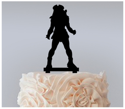 Wedding,Birthday Cake topper,Cupcake topper,silhouette Predator Package : 11 pcs - $20.00