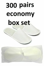 Chochili 300 Pairs Fabric Packed Economy Disposable Hotel Slippers for A... - $269.99