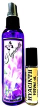 COMBO Hyacinth 4oz Bottle of Scent Spray and 10 ml Roll-on Bottle of Per... - €9,71 EUR
