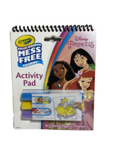 Color Wonder Mess Free Activity Pad With 3 Markers New W12 Disney Princess  - $9.74