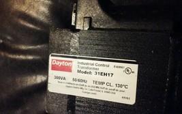 Control Transformer,300VA,DAYTON 31EH17 image 2