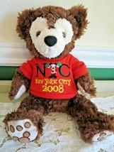 Hidden Mickey New York City Christmas Celebration Pre Duffy Disney Bear - $26.24