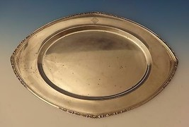 Orange Blossom by Wallace Sterling Silver Tray with Floral Border (#0186) - $4,495.50