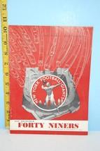 1952 New York Football Giants Official Program vs San Francisco Forty Ni... - $33.62