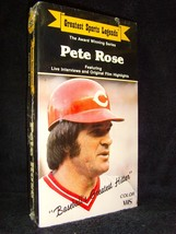 Greatest Spots Legends: Pete Rose (VHS, 1989) Brand New Factory Sealed! - $13.49