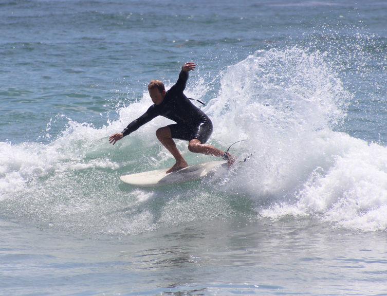 6'0 Hobgoblin Surfboard - Blu Stripe/PU - Paragon Surfboards