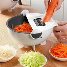 2019 New Multi Manual Slicer Drainer Vegetable Fruit Cutter Mandoline Ch... - $19.62