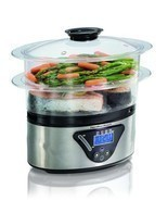 Hamilton-Beach 37530 Digital Food Steamer  - £48.77 GBP